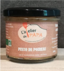 Pesto de poireaux