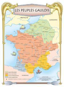 Poster les peuples gaulois