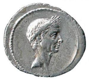 Denier d'argent Jules César